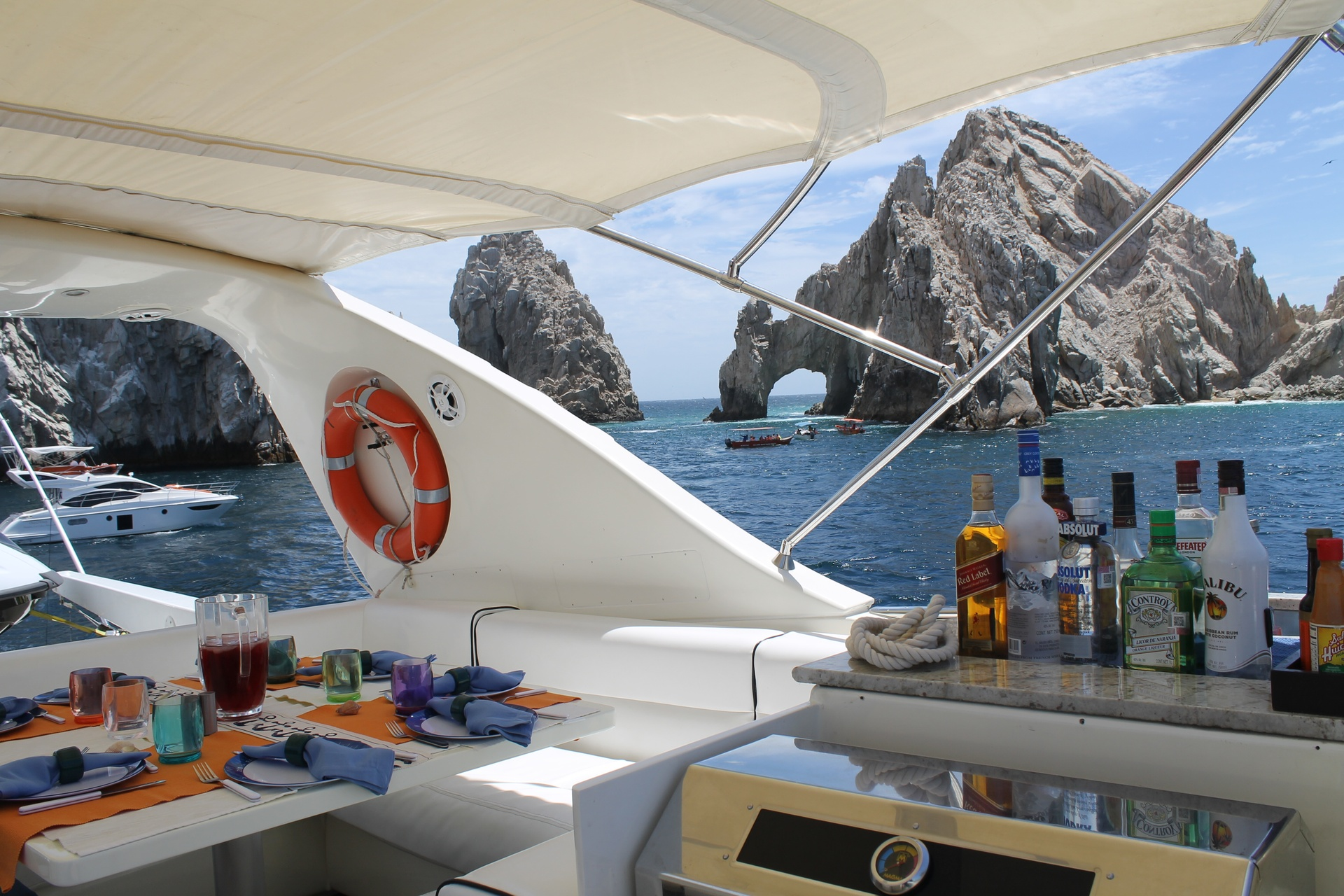event and group boat rentals in Cabo San Lucas